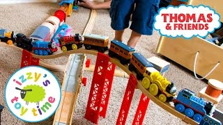 Thomas and Friends | Thomas Train ELEVATED TRACK with Imaginarium and Brio | Fun Toy Trains