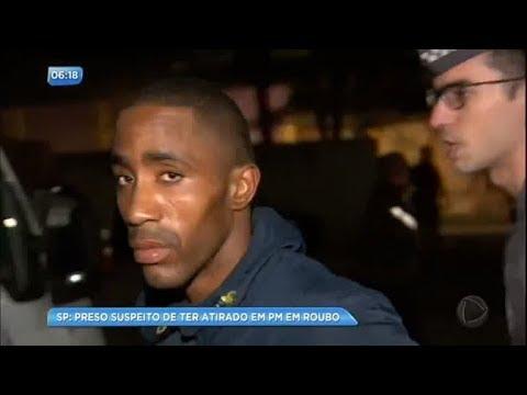 Suspeito de atirar em policial é preso após denúncia anônima