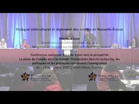 Intercultural Dialogue and Conflict Transformation in Nova Scotia - Stephen Law