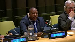 My speech at the UN conference in the United States