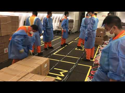 Medical Equipment for Switzerland : CARGO OPERATION TO SHANGHAI FULL TRIP REPORT 4K