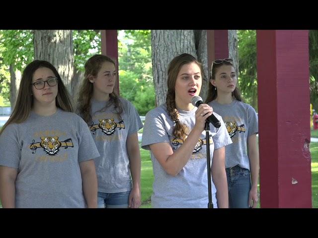 ARMADA JAMS IN THE PARK  Armada High School Chorale (06-13-2018)