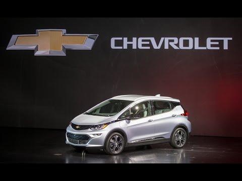 General Motors Unveils 2017 Chevrolet Bolt at CES 2016