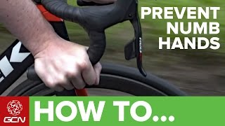 How To Prevent Numbness Or Pain In Your Hands Whilst Cycling thumbnail