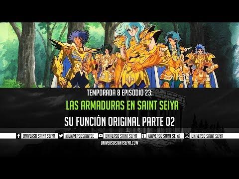 8x23 Las Armaduras En Saint Seiya PARTE 02