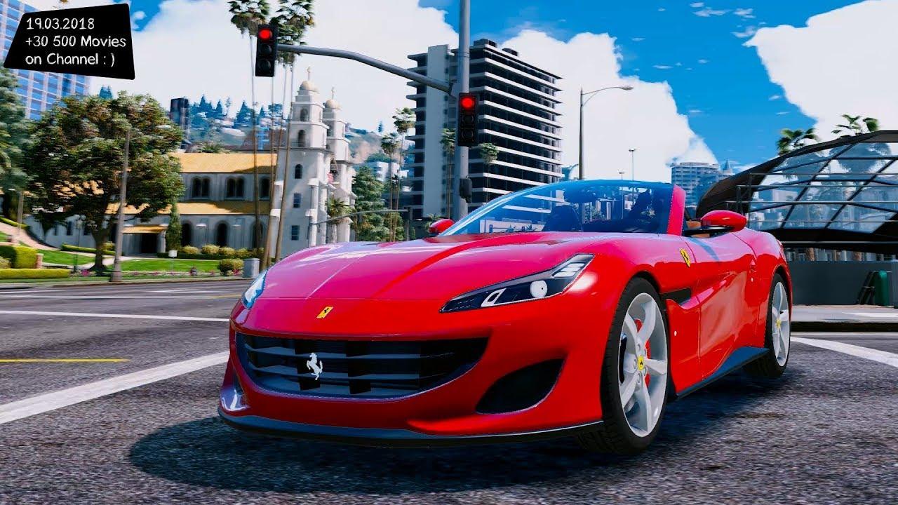 Ferrari Portofino Gta Sa