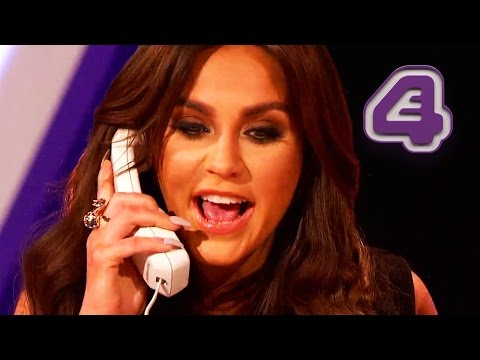 Vicky Pattison Prank Calls A Takeaway And Asks For Tampons | Virtually Famous
