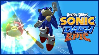 "Sonic Dash [Android] - Angry Birds Epic Event & Red ""Knight"" Gameplay"