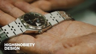 """""""Bracelet Magician"""" Michael Young Shows off His Incredible Vintage Watch Collection"""