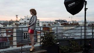 Pauline Darley Shoots Fashion In Paris