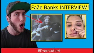 FaZe Banks INTERVIEW! #DramaAlert REACTING to ( Security Footage ) Barley House Cleveland!