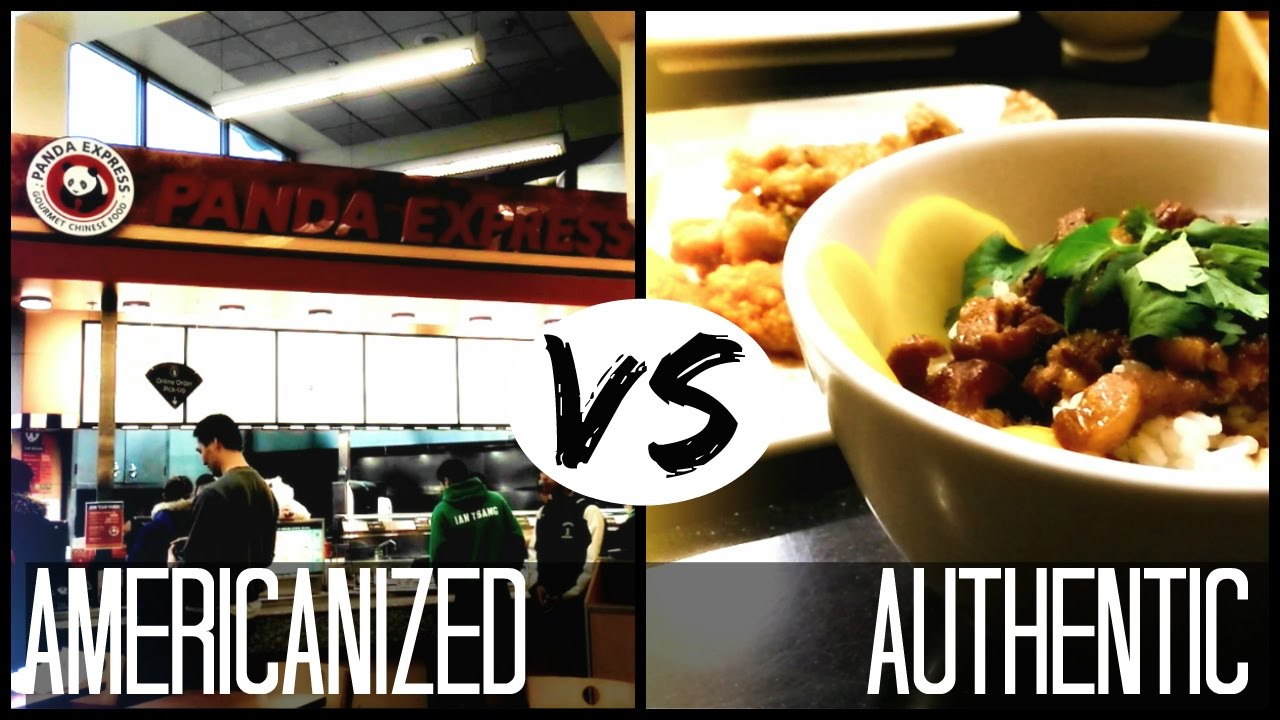American Chinese Food Vs Real Chinese Food Chinese