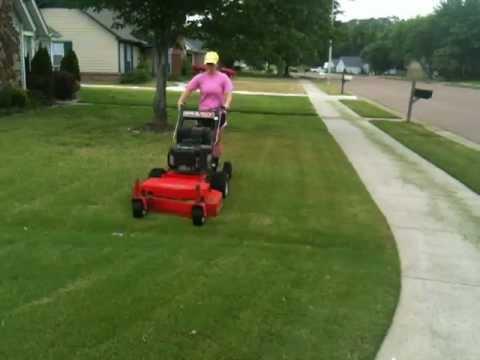 The Lawnmower Girl - YouTube