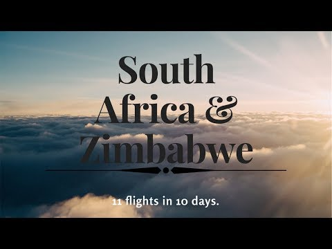 South Africa & Zimbabwe in 10 Days Vlog