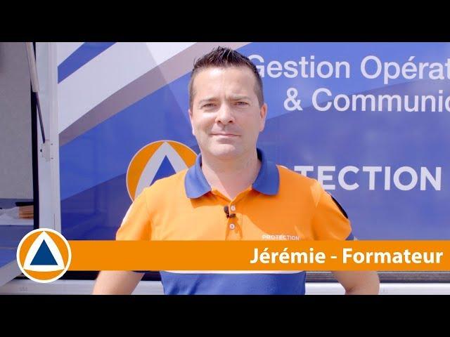 #NosMissions - Jérémy est formateur à la Protection Civile