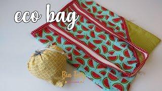 Como Fazer Eco Bag  – Sacola Reutilizável
