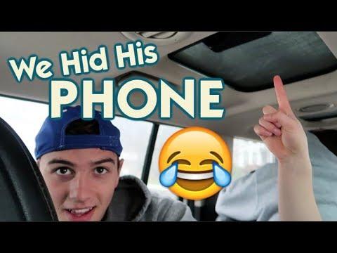 It's Pranking Ryan AGAIN! *we hid his phone*