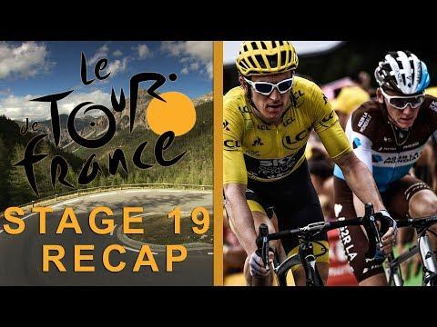 Tour de France 2018: Stage 19 Recap I NBC Sports