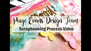 Scrapbooking Process #460 Paige Evans DT / Good Life