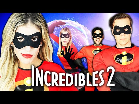 Giant Incredibles in Real Life Again! | Rebecca Zamolo