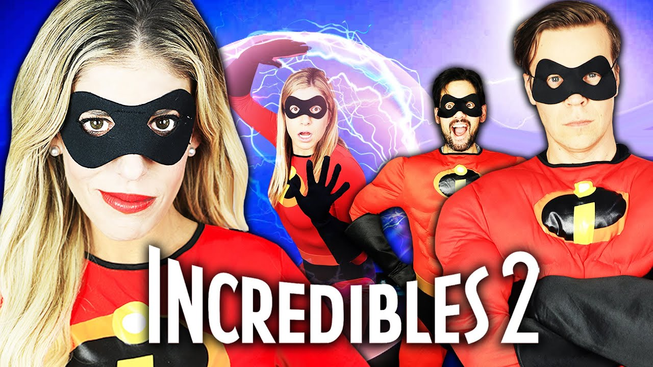 We are Incredibles in Real Life Again! | Rebecca Zamolo