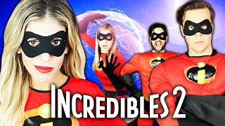 Giant INCREDIBLES in Real Life Game PART 2! | Rebecca Zamolo