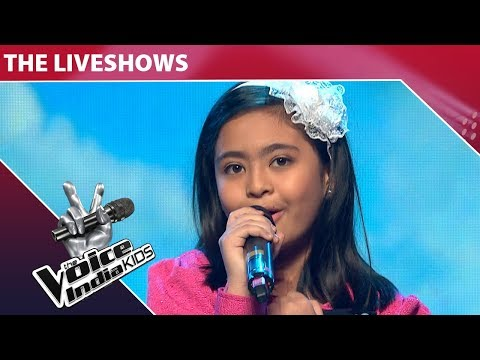 Shekinah  Performs on Love You Zindagi | The Voice India Kids  Episode 16