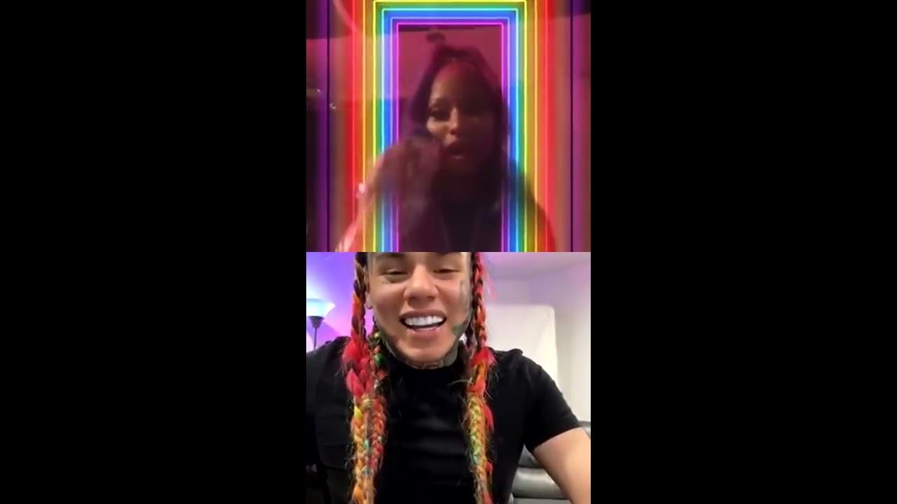 Nicki Minaj & Tekashi 6IX9INE Live On INSTAGRAM [IGTV]