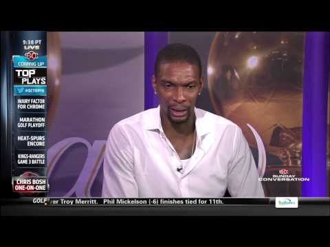 June 08, 2014 - ESPN - Chris Bosh Interview with Stuart Scott (1 on 1)