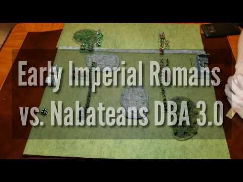 Early Imperial Roman vs. Nabatean DBA 3.0
