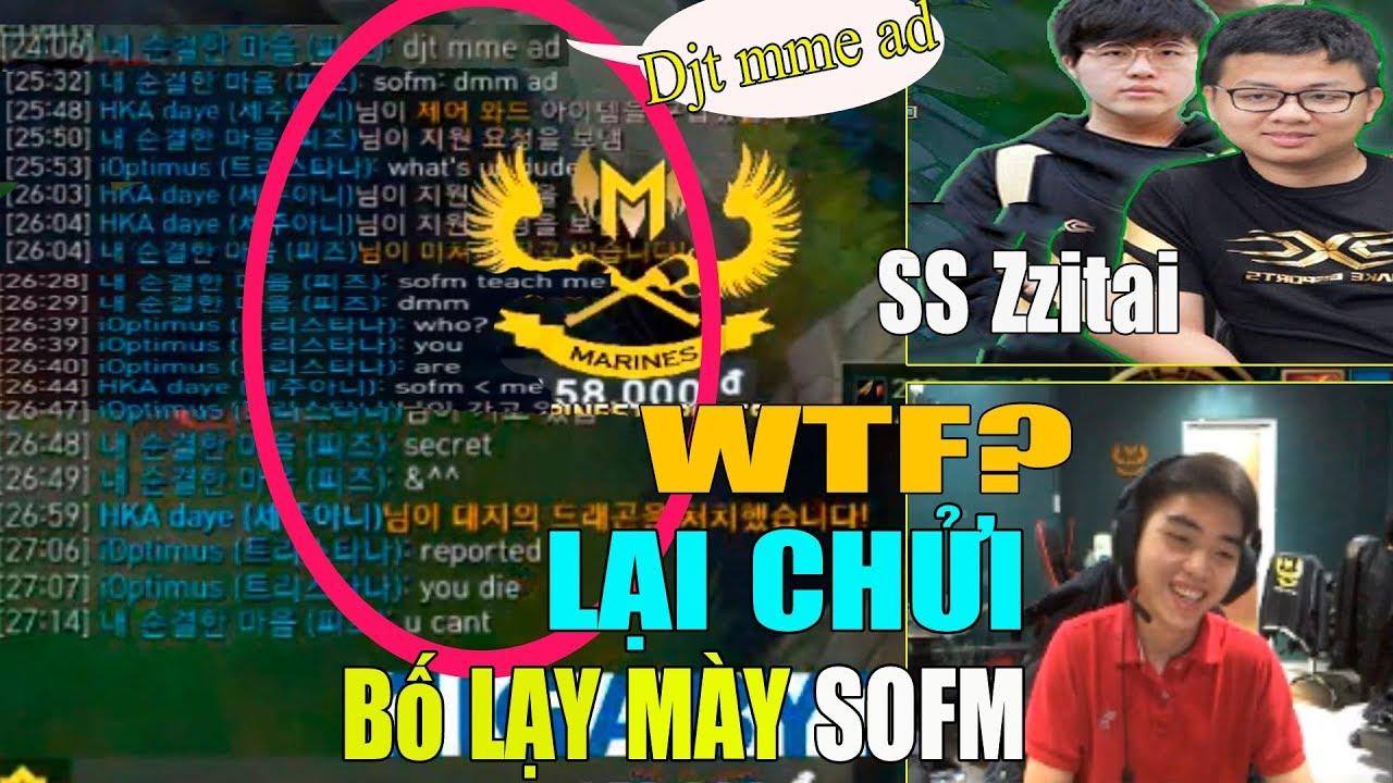 Cực bựa Sofm lại dạy bạn SS Zzitai chửi Tiếng Việt Optimus 'djt mme AD ' còn thách Optimus Report