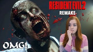 THIS IS TERRIFYING! | 1 Shot Demo - Resident Evil 2 Remake Demo Gameplay