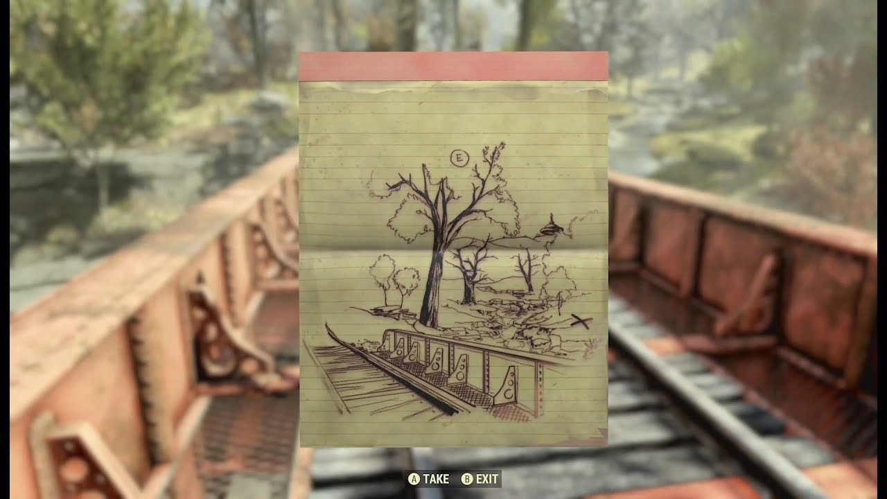 Fallout 76 has Red Dead-style treasure maps