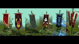Как создать флаги для команды в Dota 2