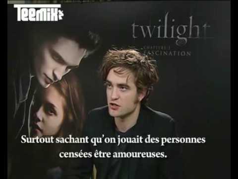 Teemix Robert Pattinson interview (3/4) : Rob talks about sexual tension with Kristen Stewart and gossips !