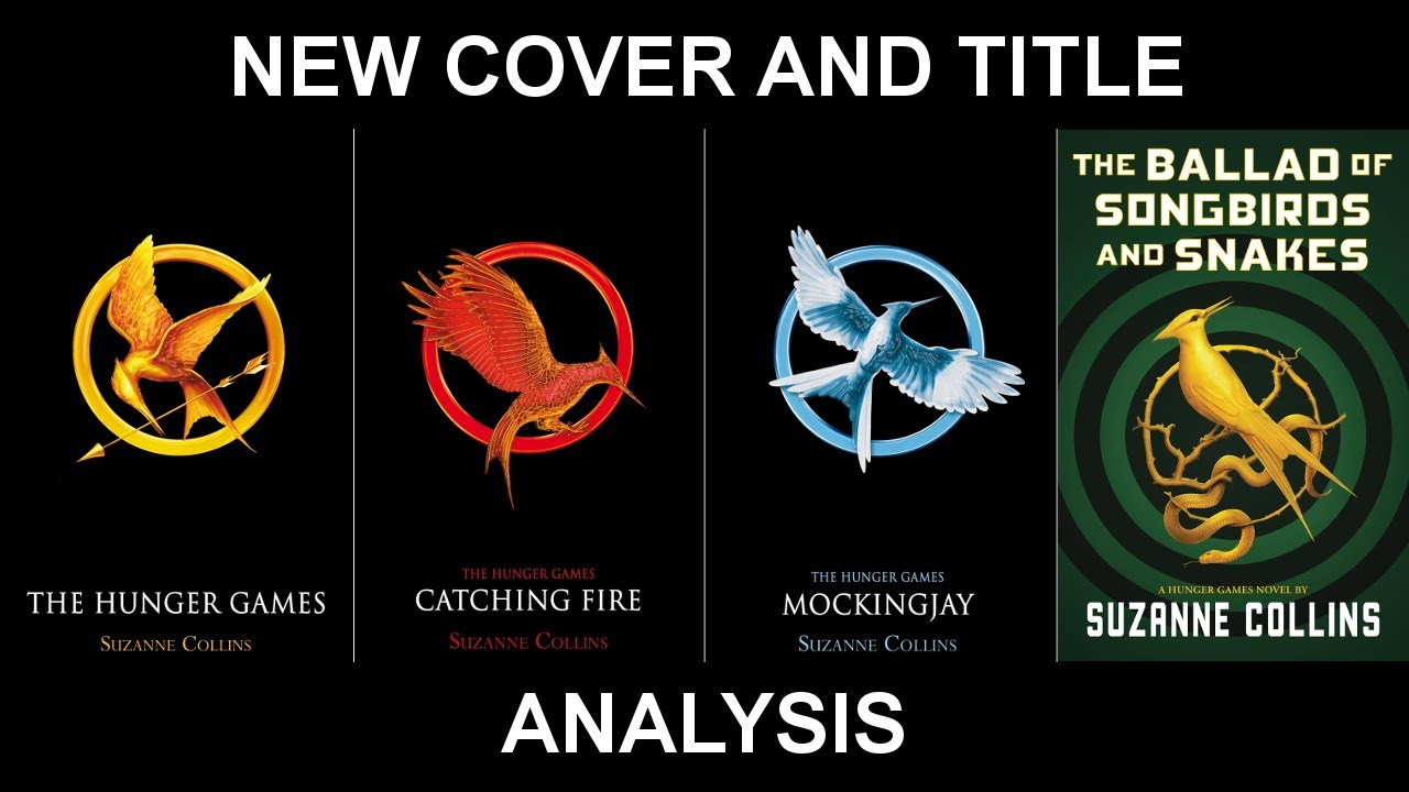Analyzing The New Hunger Games Book Cover Youtube