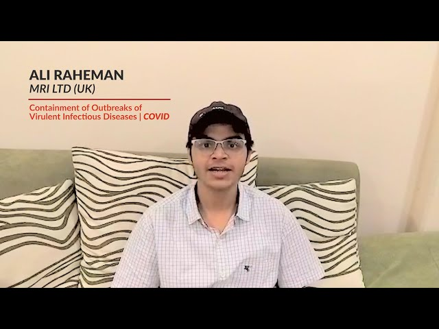 Experimenters' feedback - Ali Raheman | MRI LTD (UK)