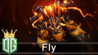 Fly Earthshaker Gameplay - 9 | 2 | 9 - Ranked Match - Team player O...