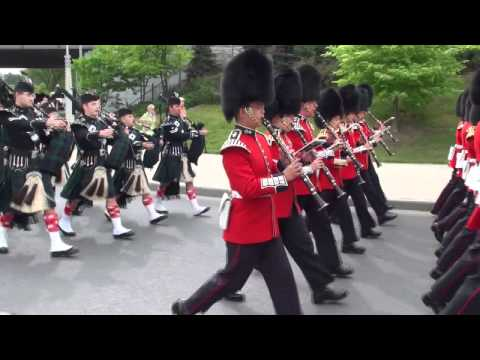Ceremonial Guard Parade in Ottawa (1 of 6) HD