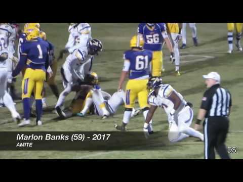 No. 7 Amite 28, No. 2 Iowa 21 (Highlights) - LHSAA Class 3A Quarterfinals