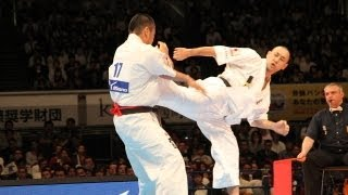 THE 10th WORLD KARATE CHAMPIONSHIP Men final Tsutomu Murayama vs No...