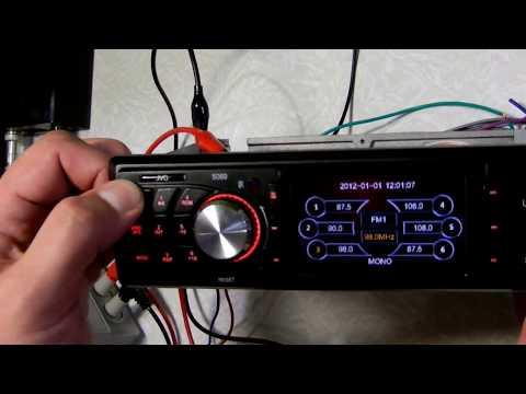 Диагностика и ремонт автомагнитолы JVG-5069 (переполюсовка)