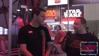 Hasbro Star Wars Interview SDCC 2015