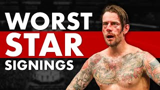 The 10 Absolute Worst Popular Star MMA Signings