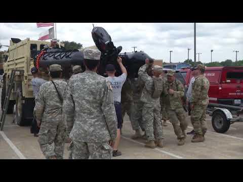 Hurricane Harvey; Texas Army National Guard prepare for Storm