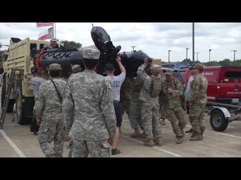 Hurricane Harvey; Texas Army National Guard prepare for Storm
