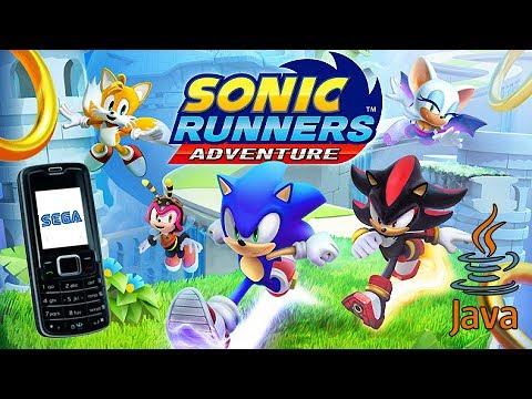 Sonic Runners Adventure (Java ME/v 1 0 8) - Gameplay Showcase [240x320]