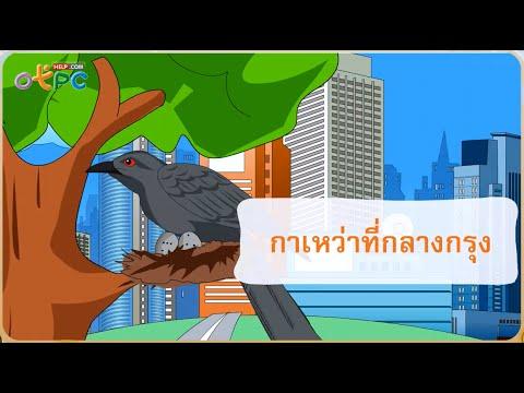 กาเหว่าที่กลางกรุง ตอนที่ 2 - สื่อการเรียนการสอน ภาษาไทย ป.3