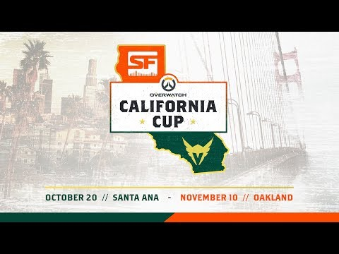 2018 Overwatch California Cup LA Valiant vs SF Shock Full Event VOD | Santa Ana Esports Arena thumbnail