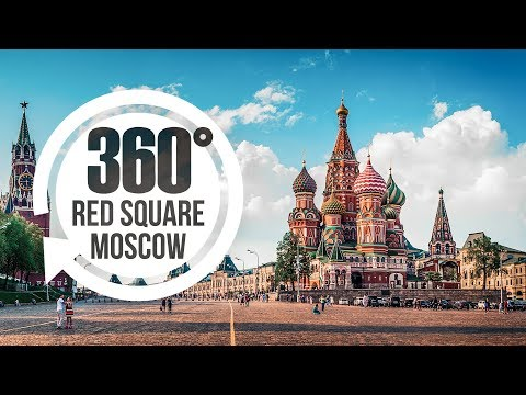 Find Marina in 360° on Red Square Moscow Russia | Video Travel Explorer | Attraction #1